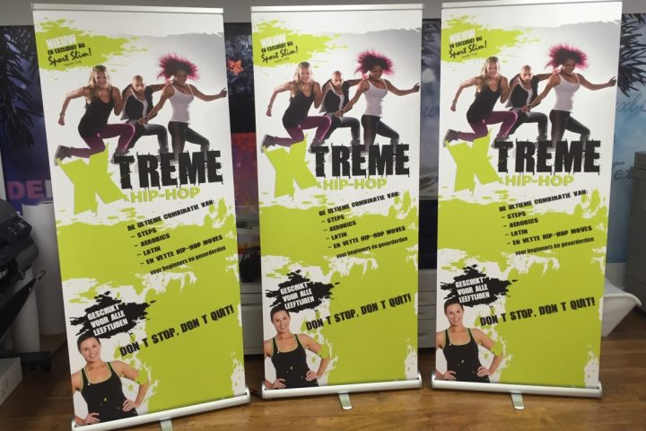 Roll up banner Sport Slim